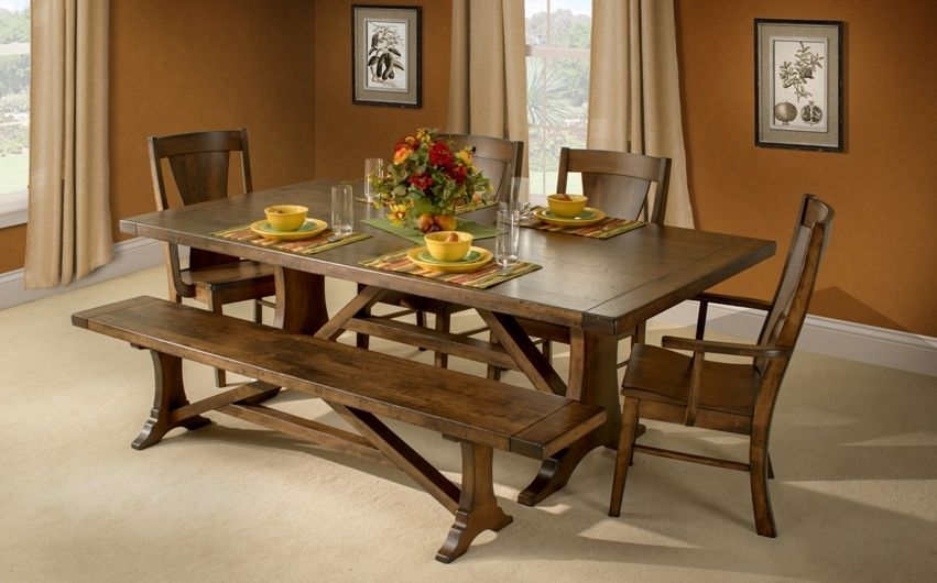 pin by carriage house furnishings on chf furniture maple trestle rh pinterest com