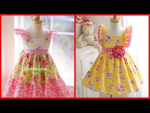 6e2b6fbc6e1 Top 50 Cotton Frocks Designs For Kids - Simple   Stylish Kids Cotton Dresses  Ideas 2017 - YouTube