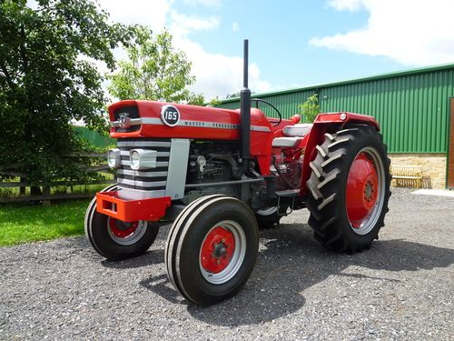 1965 massey ferguson 165 tractors pinterest tractor. Black Bedroom Furniture Sets. Home Design Ideas