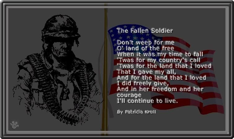 pin by jonica vanasdlen on rip soldier quotes soldiers prayer rh pinterest com