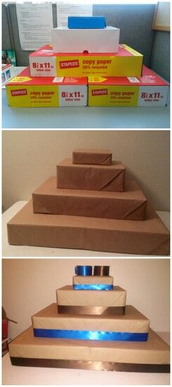 Cupcake Stand Out Of Box Tops Puedes Envolver Las Caja Del Color