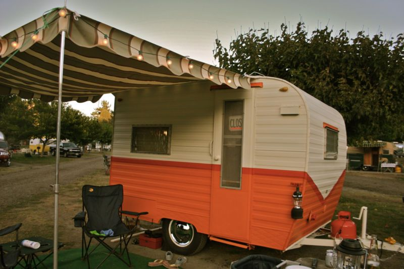 Cardinal Vintage Travel Trailer / Camper - 1965 - 10' - LOW RESERVE | Outdoor Oasis | Pinterest