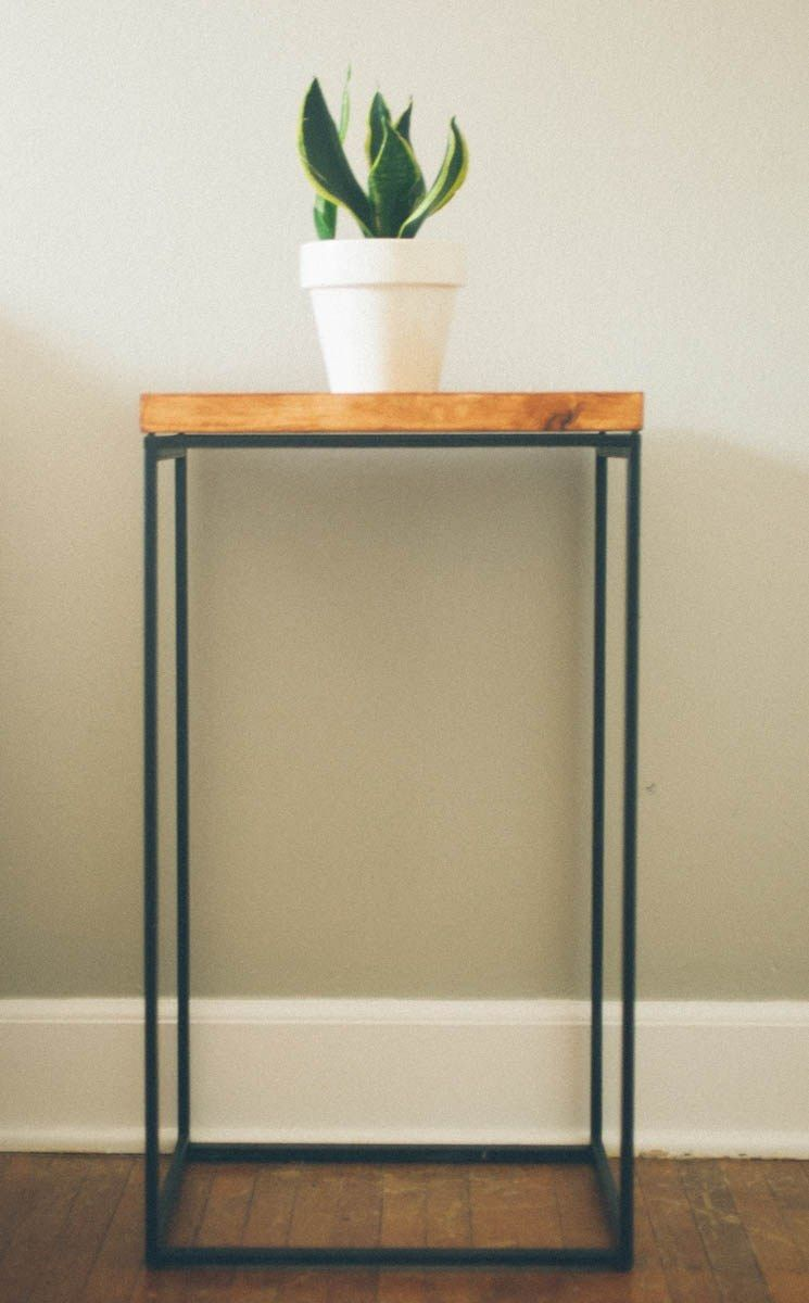 Superior DIY: Side Table (from An Ikea Laundry Basket)   Love This Look,