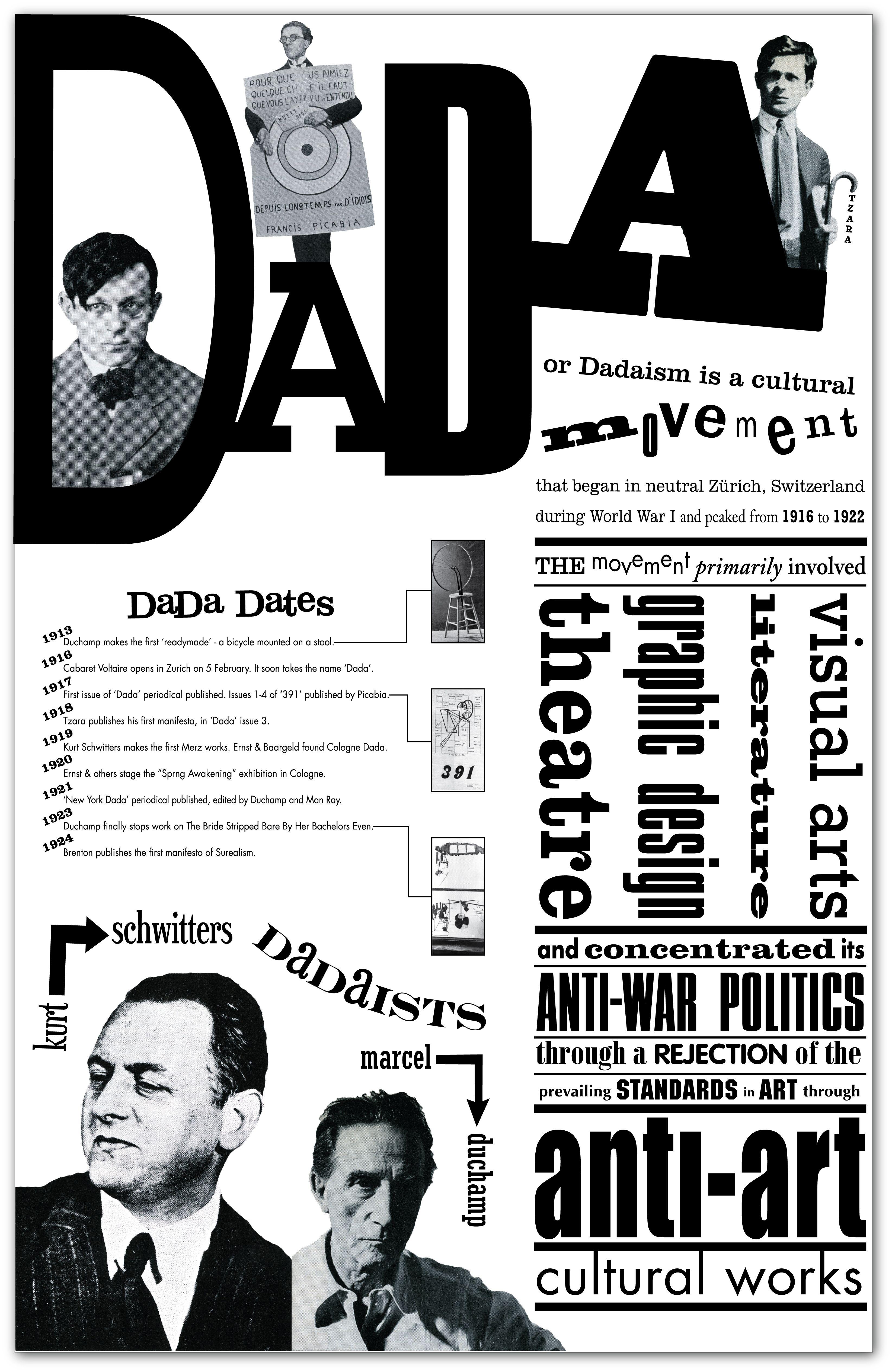 Interessante Manier Van Het Weergeven Van Typografie