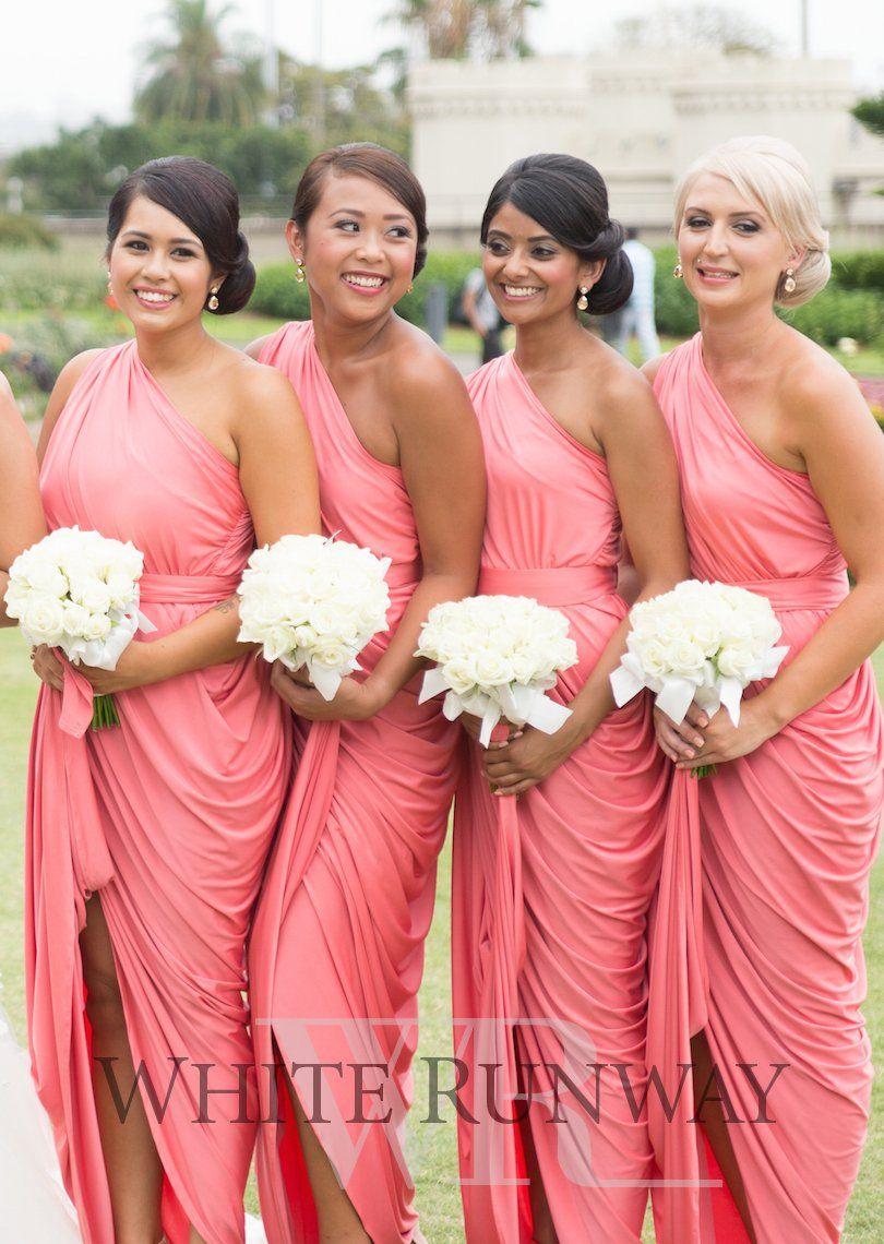 Coral Bridesmaid Dresses | Wedding | Pinterest | Damas y Boda