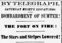 Fort Sumter: How Massachusetts reacted to the start of the Civil ...