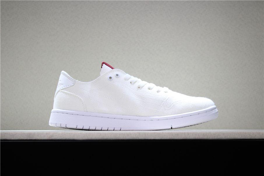 "2018 Levi s x Air Jordan 1 Low ""White Denim"" Men s and Women s Size  Basketball Shoes 7bf27321e"