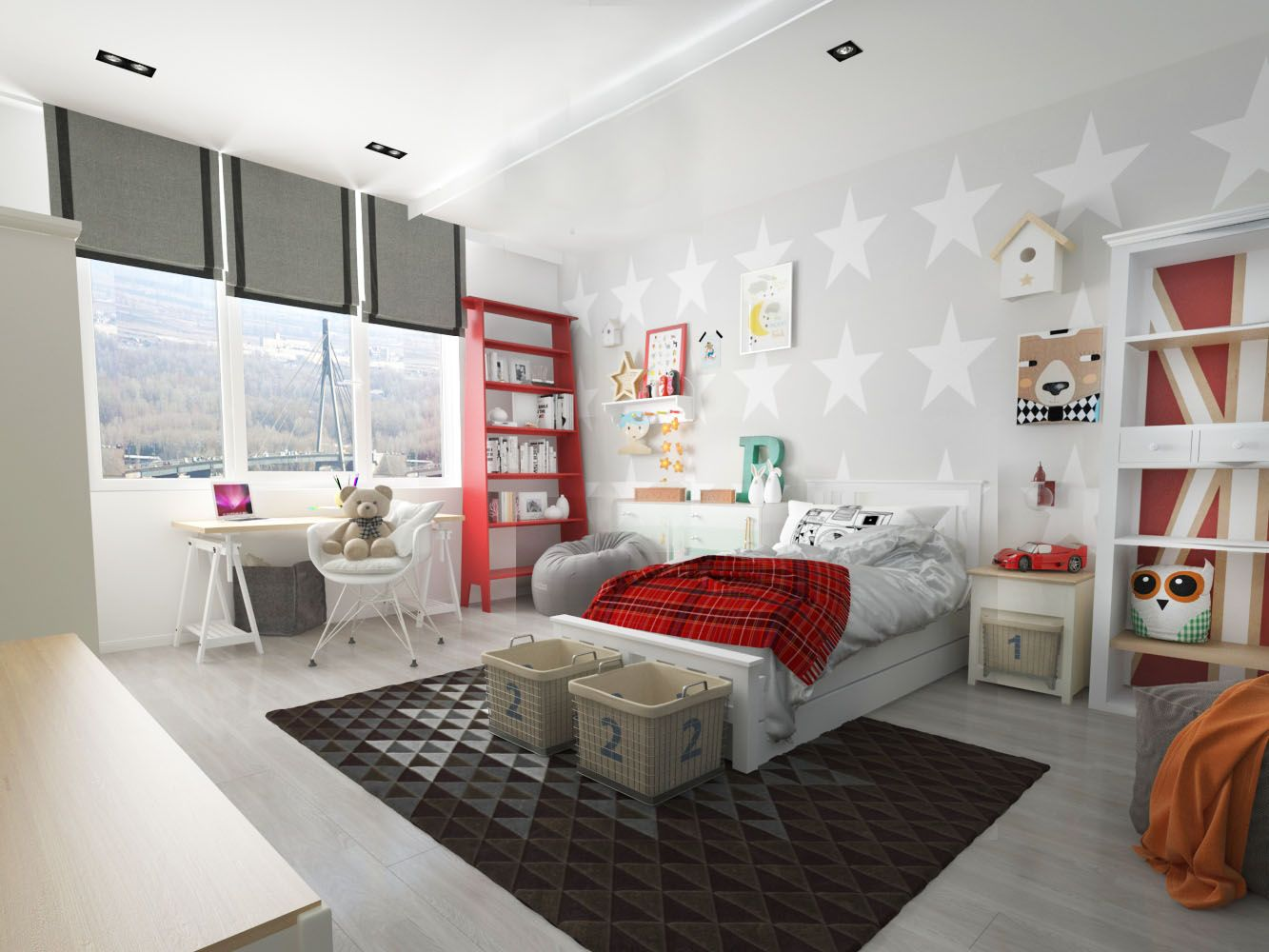 Zanko Design interiors kids kids room boy