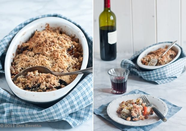 VEGETABLE CRUMBLE WITH TOASTED SEED TOPPING  #vegan #misslilamae