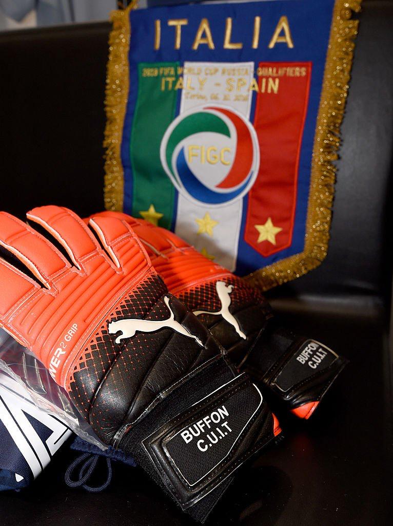 Buffon S Gloves
