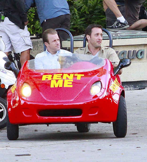 What Cars Did Danny Drive In Hawaii Five