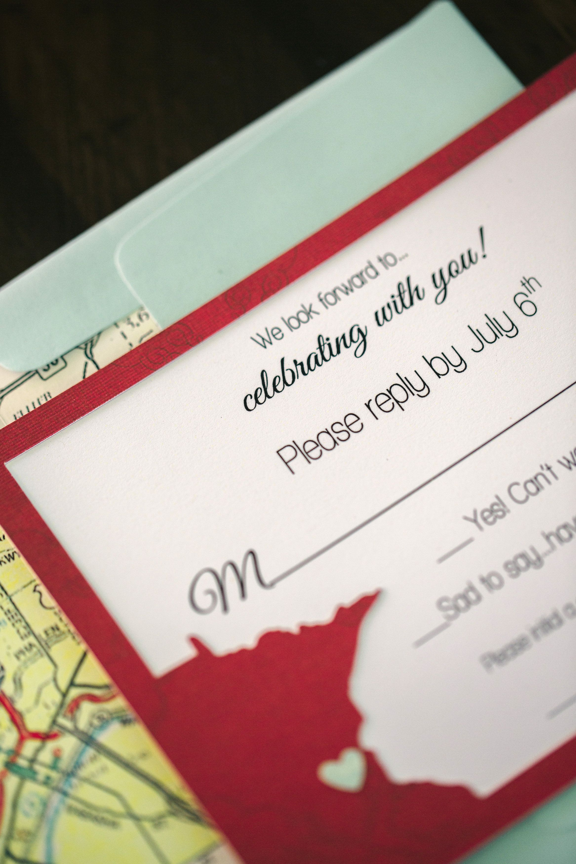 Wedding Invitations RSVPs Jody Savage