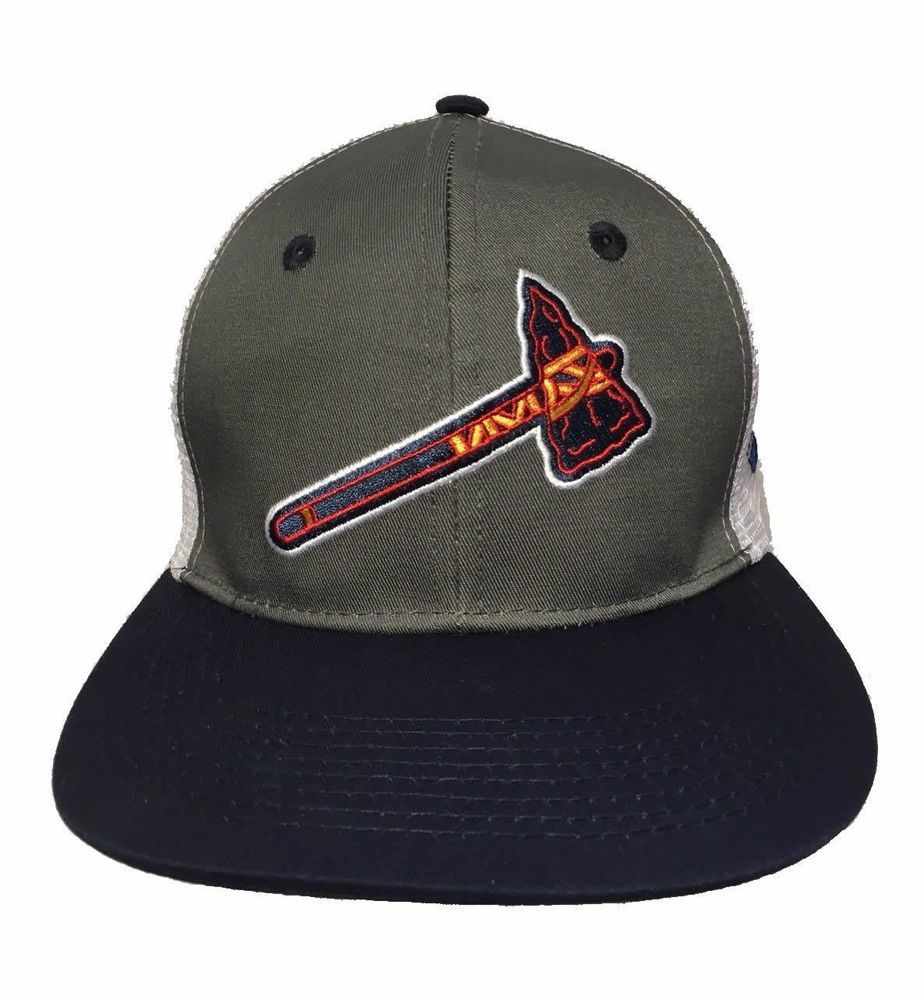 New Atlanta Braves Chop On Snapback Hat Promo Baseball Tomahawk Napa Rare Unbranded Atlantabraves Atlanta Braves New Atlanta Hats