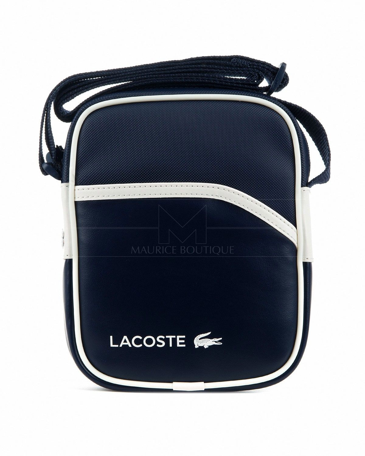 1f6995ad09c Navy Blue Lacoste mens bag - Pvc   ~Lacoste~... in 2019   Lacoste ...