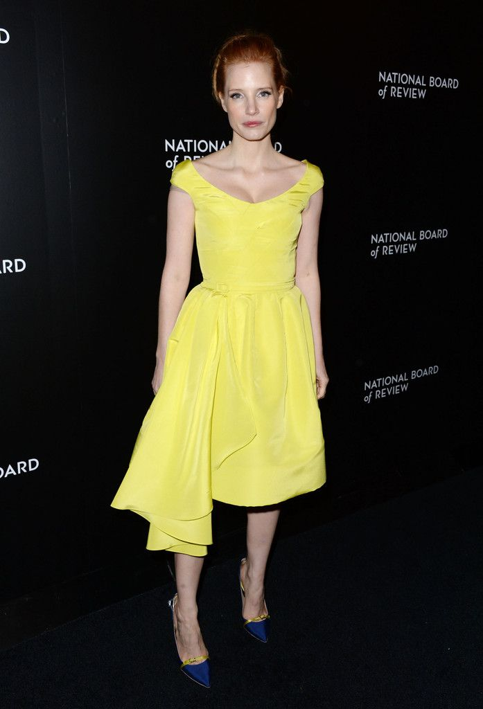 Actress Jessica Chastain attends the 2014 National Board Of Review Awards Gala…