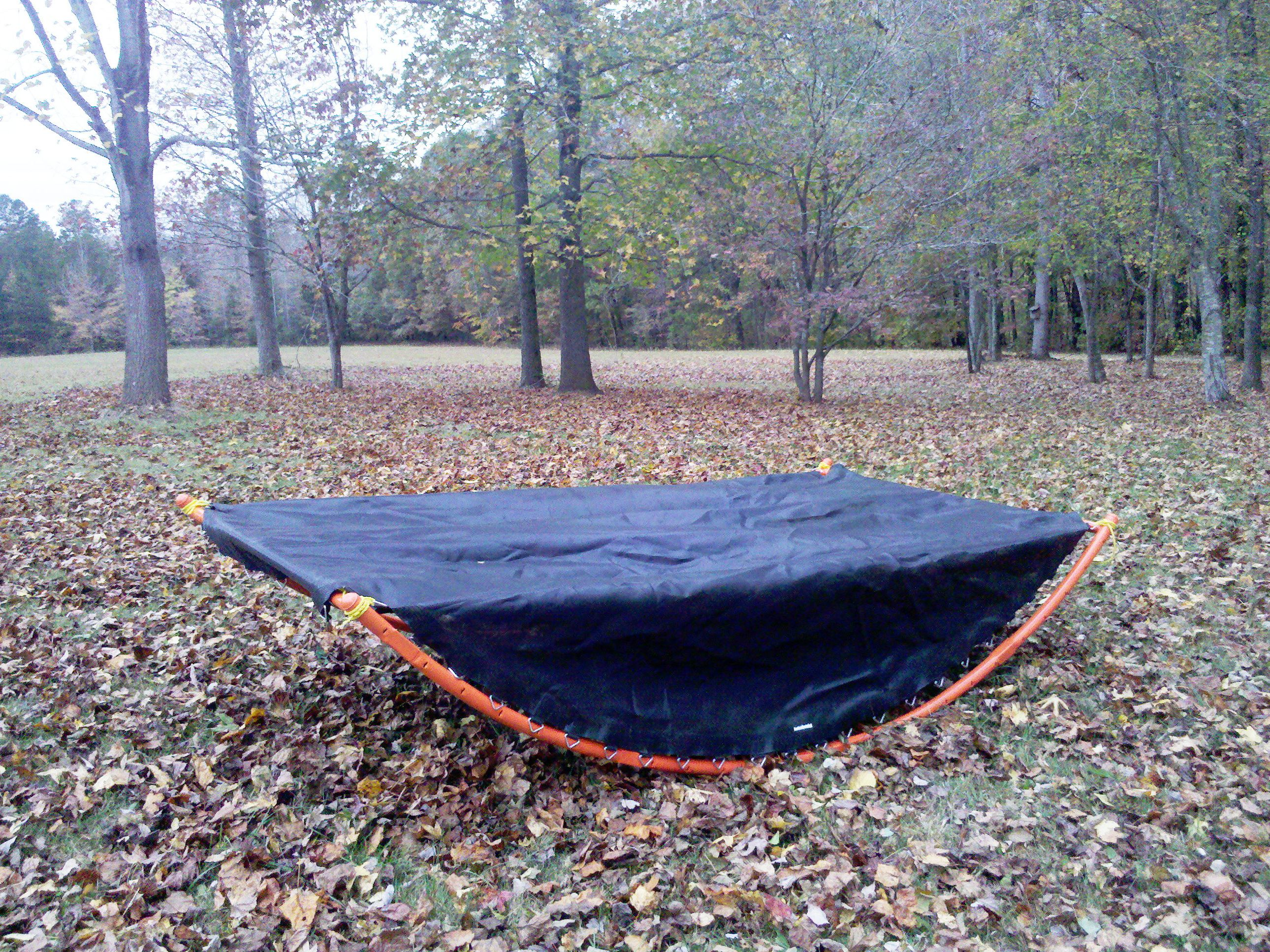 rocking trampoline hammock diy how to from make