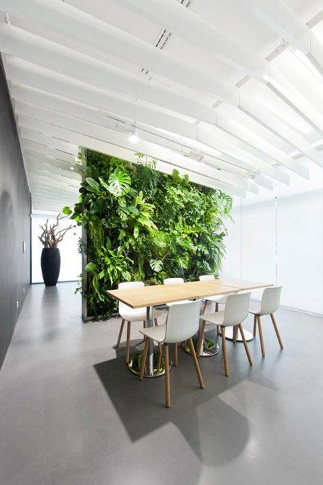 Pairing Natural Elements Such As Plants And Greenery Keep The Space