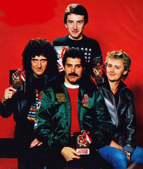 QUEEN photo session with Koh Hasebe in Tokyo, Japan in February 1981