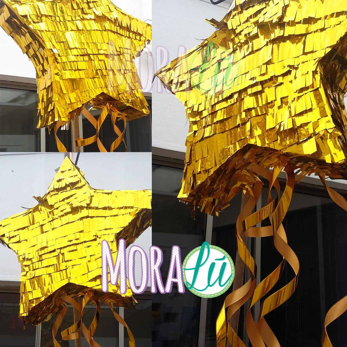 Piñata en forma de estrella para fiesta de la mujer maravilla ...