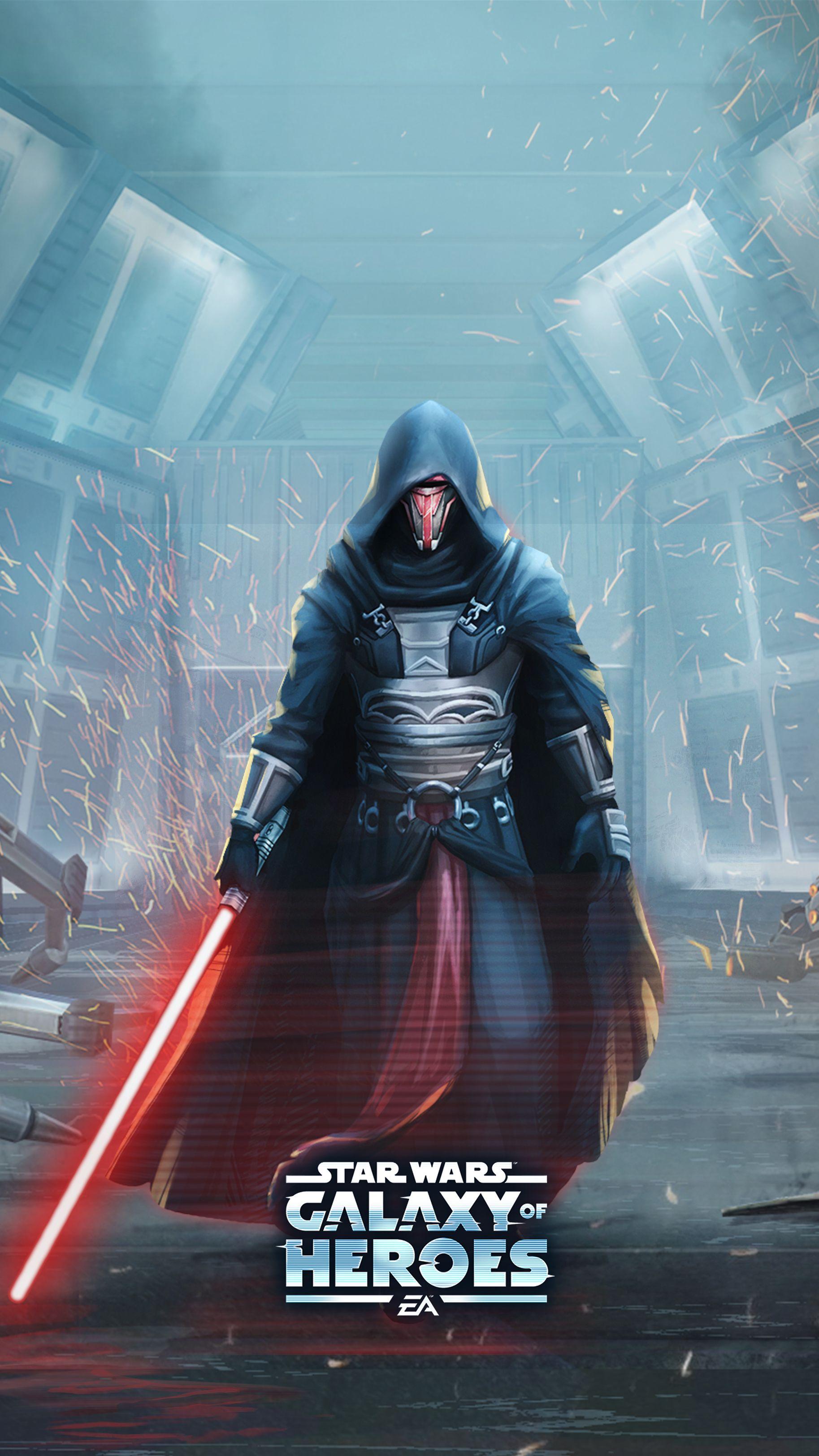 Developer Insights Darth Revan Star Wars Galaxy Of Heroes Forums Star Wars Star Wars Images Star Wars Pictures