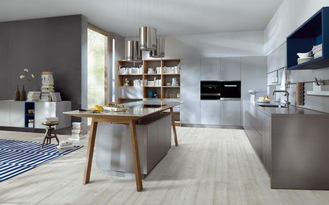 Next125 Küchen Modernes Küchendesign durch eine klare Kleine - küchen in grau