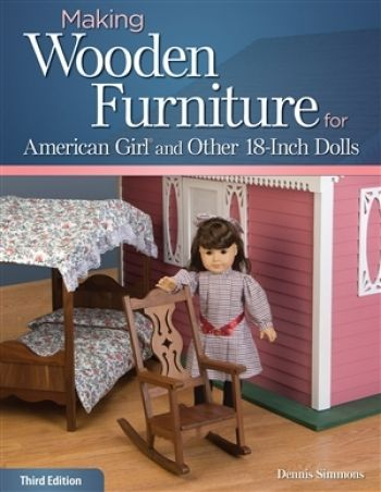 making wooden furniture for american girl and other 18 inch dolls rh pinterest co uk