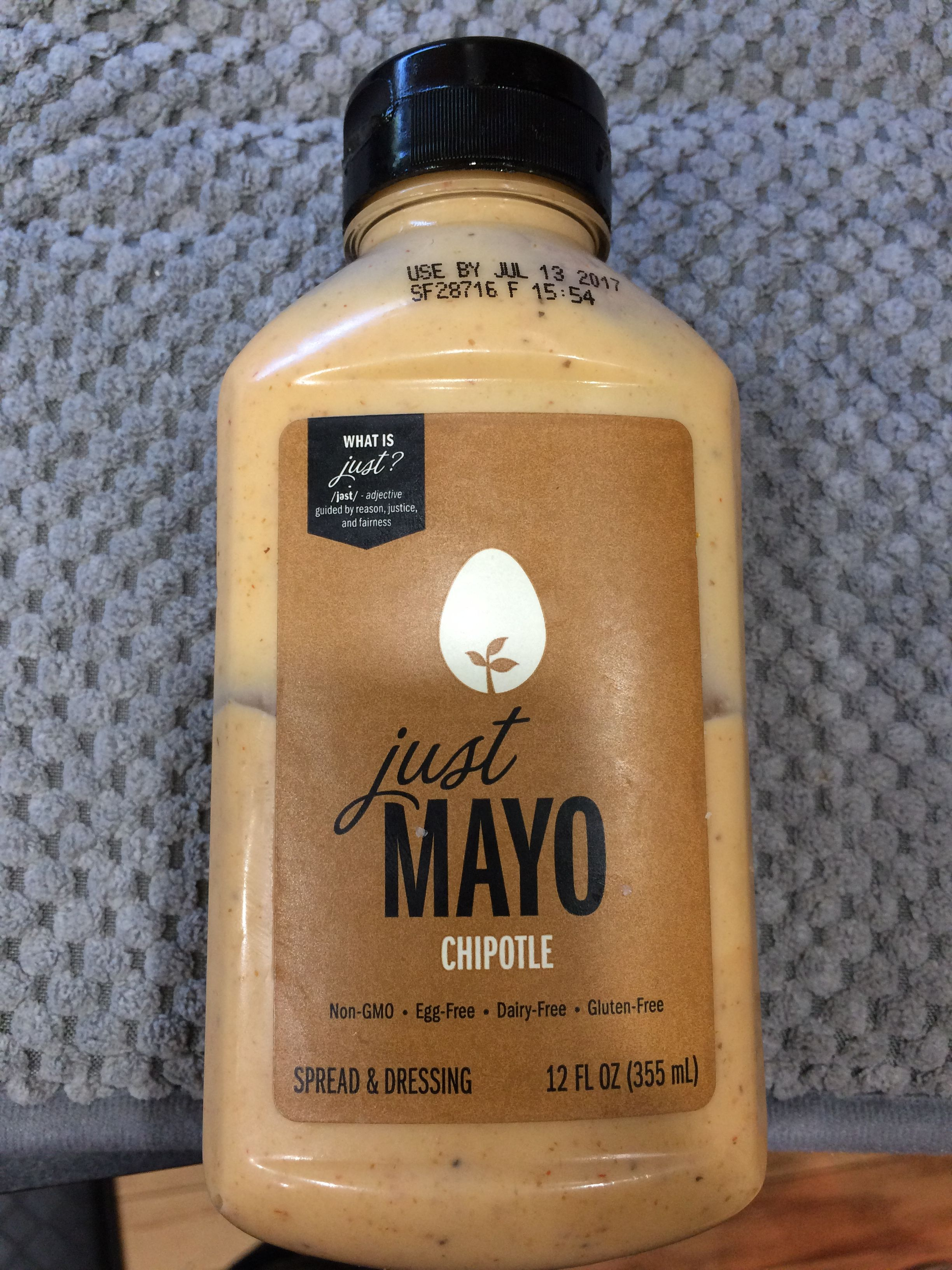 Soy and egg free mayo. The chipotle flavor is the best