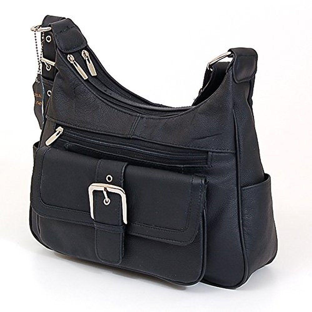 b29957586eb3 Womens Genuine Leather Shoulder Bag Tote Organizer Purse Hobo Handbag