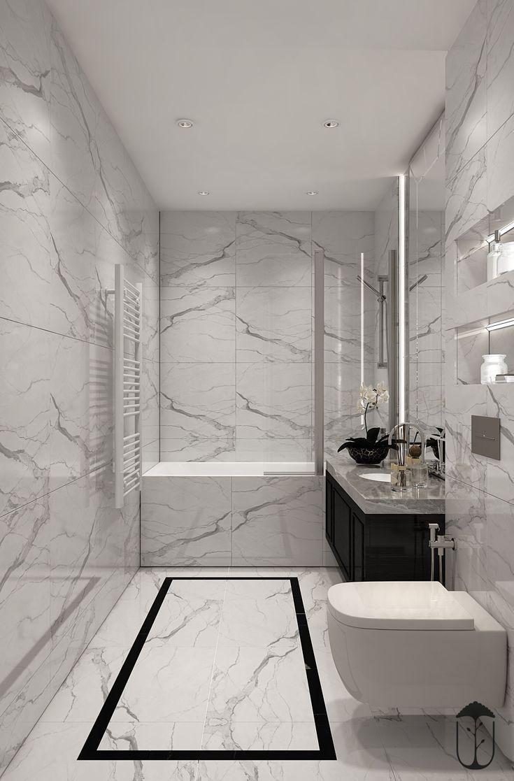 Mablebathroom Marblebathroomdecor Banos De Marmol Blanco Bano