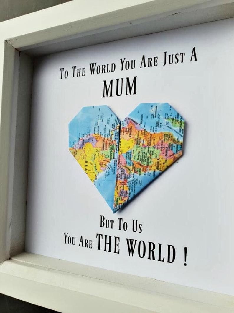 Gift for mummothers day giftsgift frame for mumbirthday  Etsy