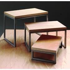 Tabletop Display Risers