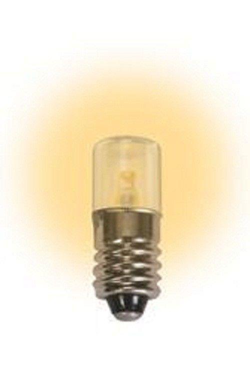 Led 1 Watt Miniature E10 12 Volts Warm White Miniatures Led