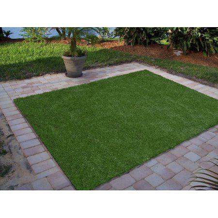 Ottomanson Garden Grass Collection Indoor Outdoor