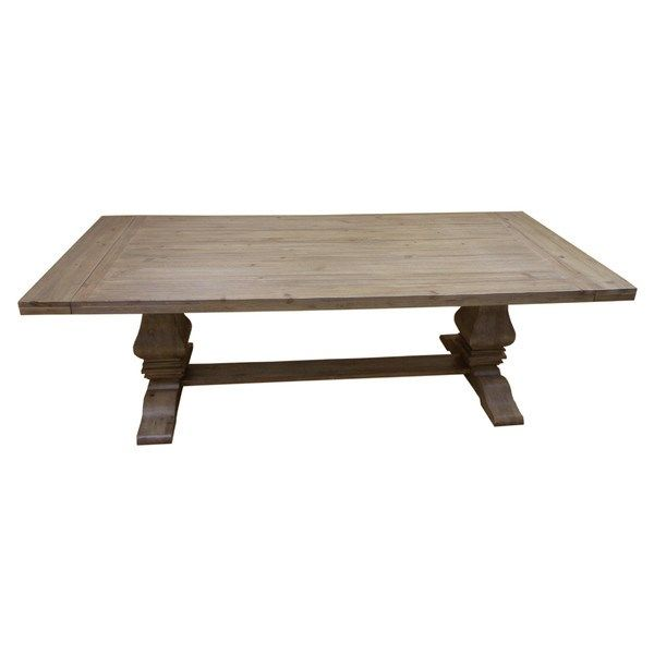 Donny Osmond Home 180201 Florence Rectangular Dining Table In Warm