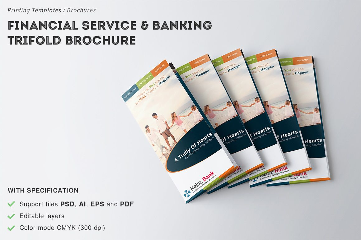 financial service banking brochure templates financial service banking trifold brochures is for banking to engaged more customers offer b by broewnis