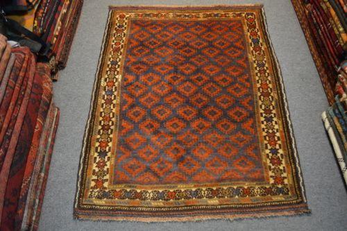 Stunning Vintage Afghan Baluchi Rug