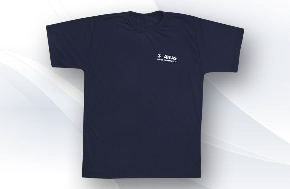 Camiseta promocional gola careca b4583cd3419ae