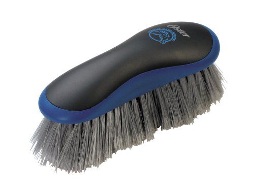 $10.95-$12.99 Oster Equine Care Series Grooming Brush, Stiff Bristle, Synthetic, Blue - Oster ECS Line of Grooming Tools feature control touch handles that are ergonomically designed to reduce hand fatigue.  These one-of-a kind grooming tools are made to last and offer uncompromising results in horse grooming. http://www.amazon.com/dp/B0006G5NPK/?tag=pin2pet-20