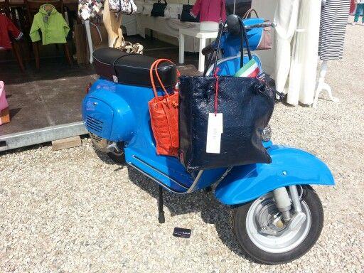 Vespa op het Italie Evenement 2013