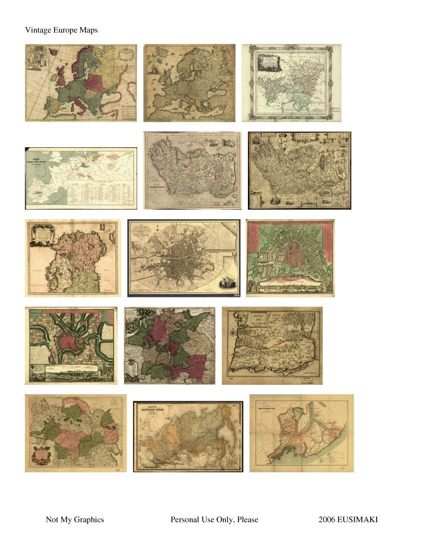 Vintage Maps Website Devoted To 1 12th Scale Miniature