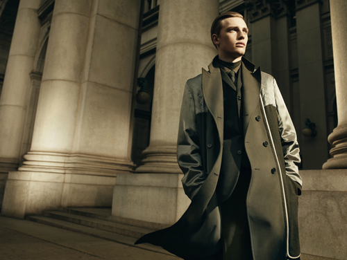 "DIOR HOMME AW 2012 ""SHADOW""  Photographer: Willy VanderperreModel: Victor Nylander"