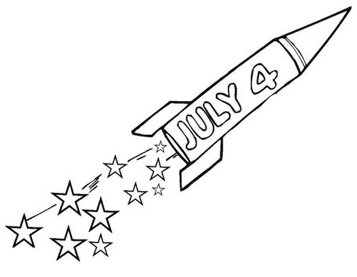 Pin by Fourth of July on Coloring Pages Pinterest - new 4th of july coloring pages preschool