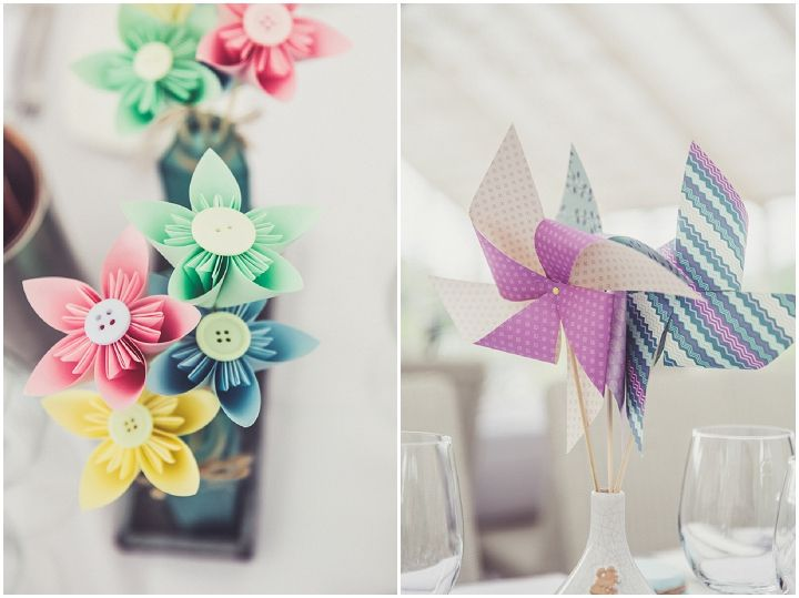 Homemade paper flowers and windmills wedding decorations homemade paper flowers and windmills mightylinksfo Image collections