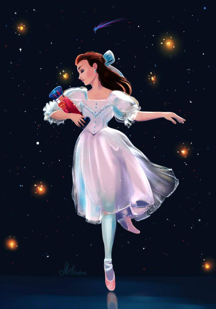 Midnight Dance By Mellodee Ballet Wallpaper Ballet Illustration