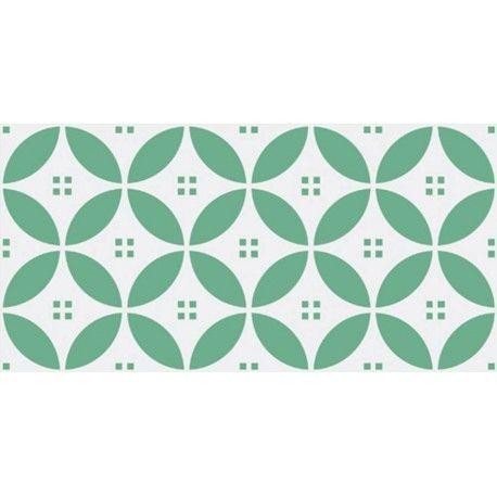 carrelage design mural brillant vert 10 x 20 cm. Black Bedroom Furniture Sets. Home Design Ideas