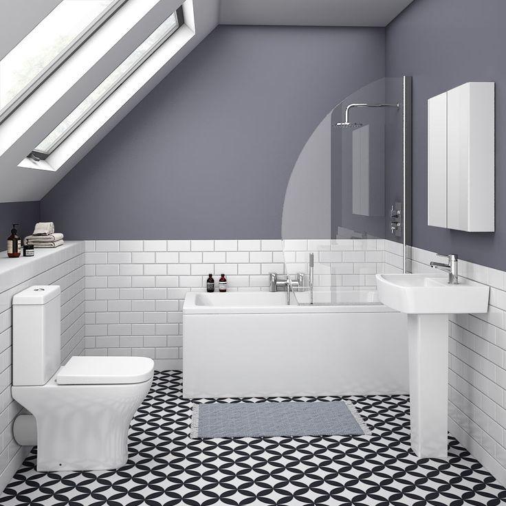 Venice Small 5-Piece Bathroom Suite | Victorian Plumbing ...