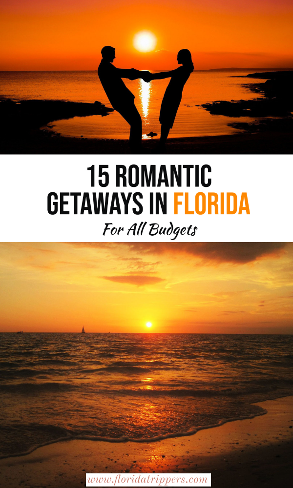 15 Romantic Getaways In Florida For All Budgets Usa Travel Destinations Travel Usa America Travel