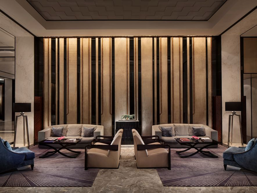 Four Seasons Hotel Pudong - Picture gallery wall design