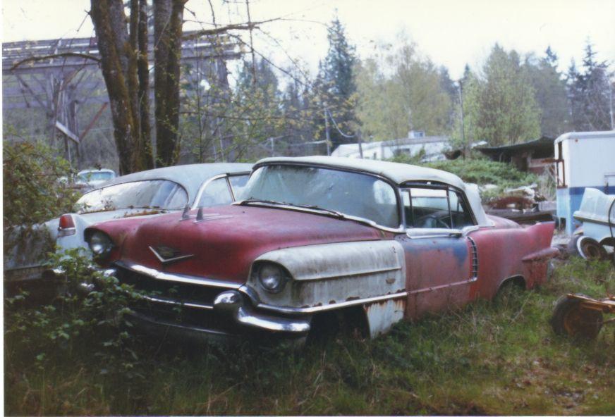 1956 Cadillac Eldorado Convertible | junk yard greats/barn finds ...