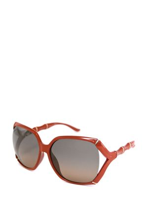 bfb158ee4032f GUCCI Oversized Square Bamboo Sunglasses